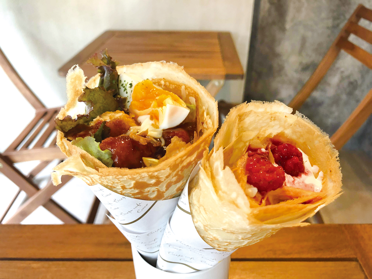 Crepe cafe Coco